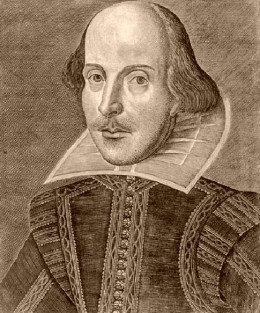 The Bard of Avon. (April of 1564 to April of 1616).