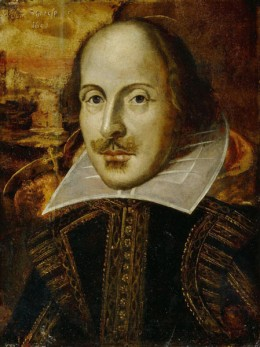 For a man whose works were full of wit, humor and passion, Shakespeare's pictures don't show it.