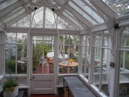 Here is the inside of the crystal palace.