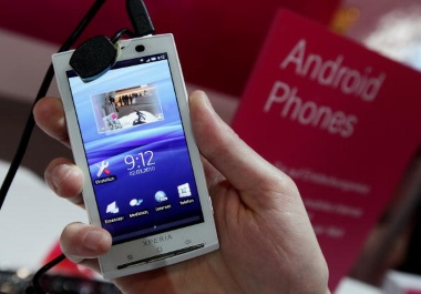 The Sony Ericsson is one of the best new rogers cell phones.