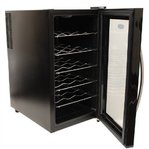 NewAir AW-280E NewAir Thermoelectric Wine Cooler With Touch Screen LED Light