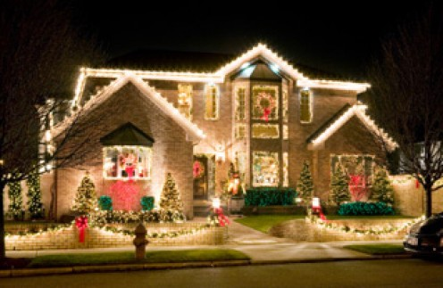 LED lights are a brilliant way to decorate your home for the holidays