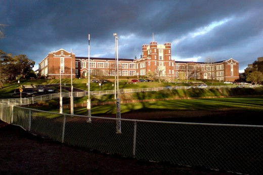 Not my high school, but still kind of creepy looking in my opinion.