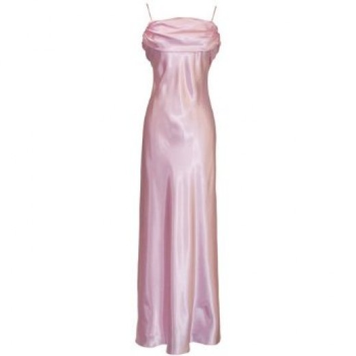 Satin Grecian dress - comes in many sizes and colors.