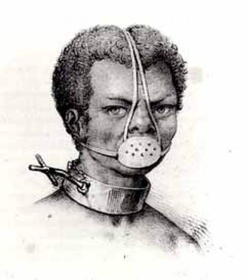 The Iron Muzzle, a horrible device