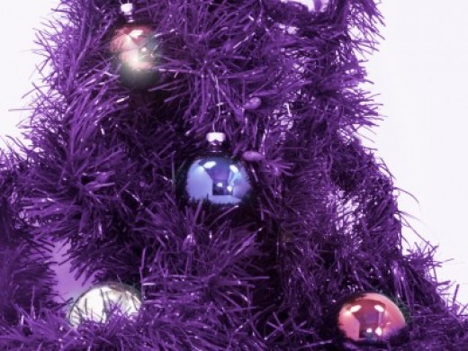 Make it a Purple Christmas Tree this year.