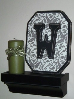 Craft Project: How to make a decorative wall plaque for your home