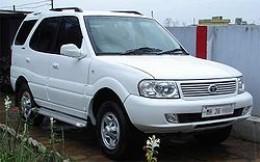 Tata Safari Dicor White SUV