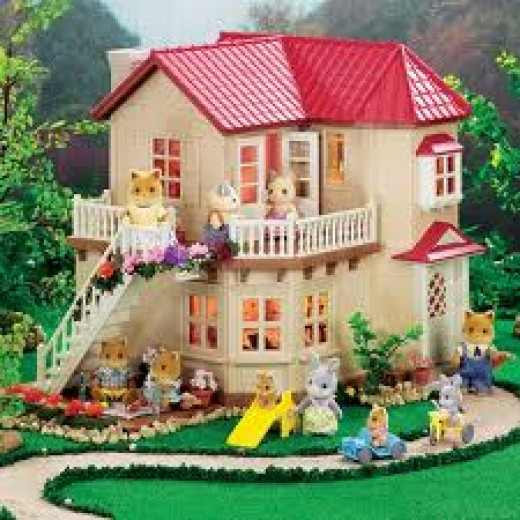 Calico Critters House Luxury Townhome