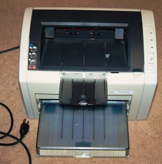 I finally got around to putting this bulky printer on eBay.  Hopefully this thing will be out of the way before long.