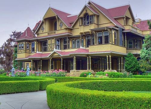 The Winchester Mystery House, San Jose, CA
