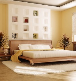 how to choose wood bedroom furniture colors combination