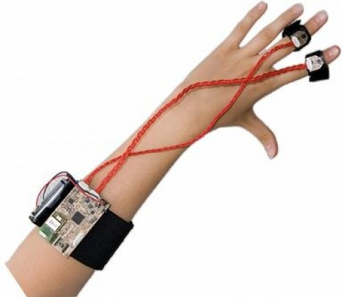 A wearable emotion detector for use in treating Fear of Flying.