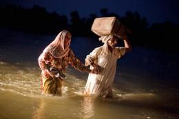 Walking through the Flood