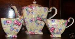 Charming Chintz Tea Sets: Pretty Patterns in Distinctive Tableware
