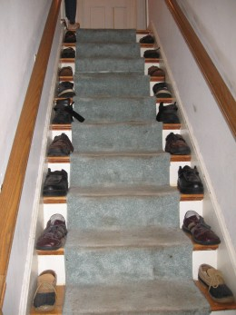 Not sure where to put your shoes?!!