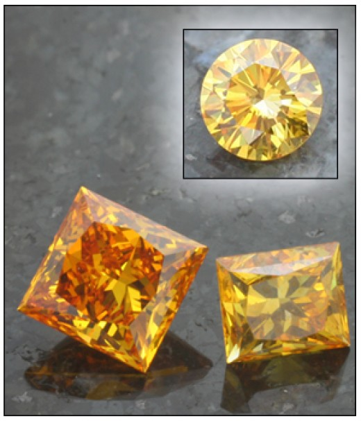 Grandma's ashes made into a beautiful yellow diamond by LifeGem?