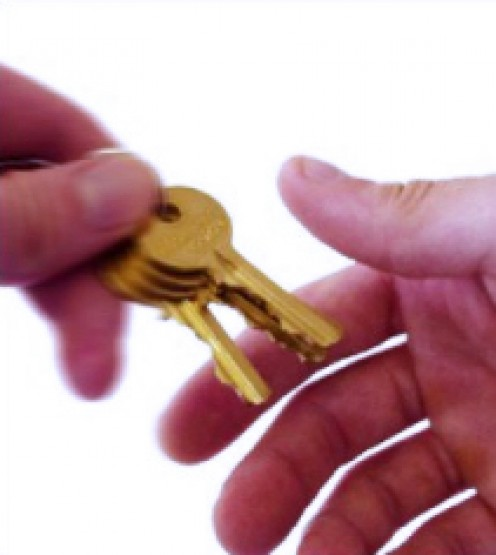 Make sure to give a set of spare keys to a trusted neighbor