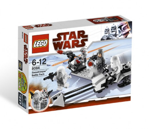 LEGO Star Wars 8084 Snowtrooper Battle Pack - Box