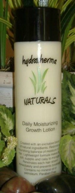 Hydrathermal Naturals Daily Moisturizing  Growth Lotion Rewiew