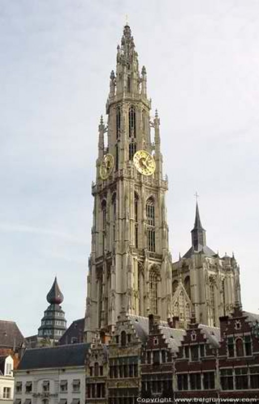 Notre Dame Cathedral @ Antwerp (Photo by : Johan Mares)