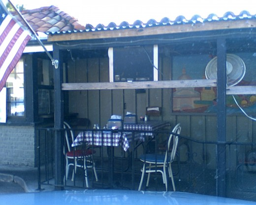 A snapshot of part of the Outdoor Patio! Open all year long1