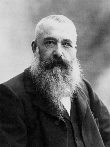Claude Monet Photograph