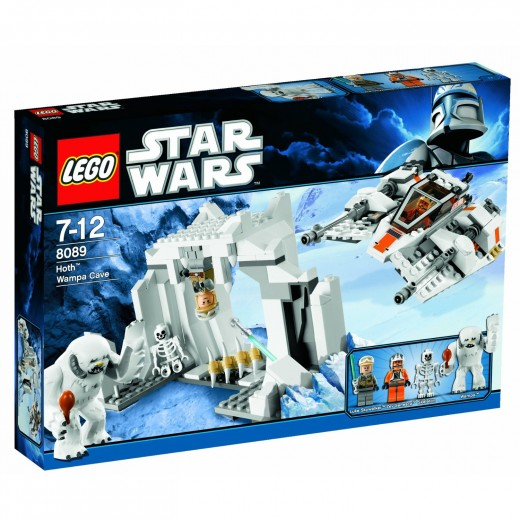 LEGO Star Wars: 8089 Hoth Wampa Cave box