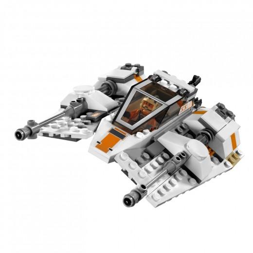 LEGO Star Wars: 8089 Hoth Wampa Cave - Snowspeeder