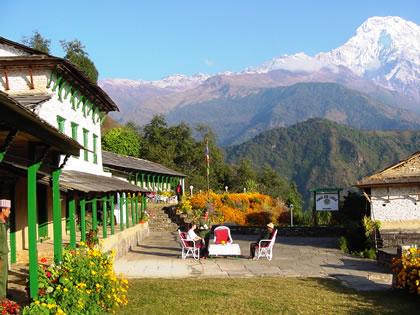 Himalayan Lodge, in Nepal, on the Annapurna trek