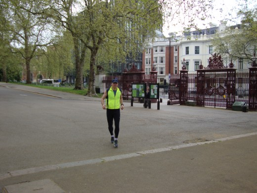 Running with a pacemaker