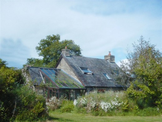 Stone Cottage in the moorland