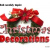 Christmas Ornament Plastic Storage Containers| Xmas Bins and Boxes For Decoration