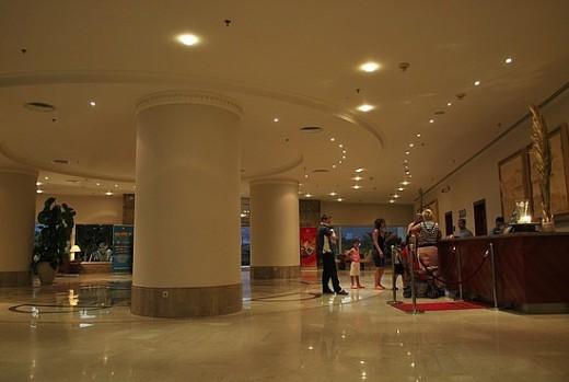 The Hilton Taba Lobby