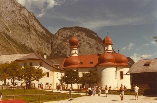 St. Bartolomea, Berchtesgaden National Park, Germany.
