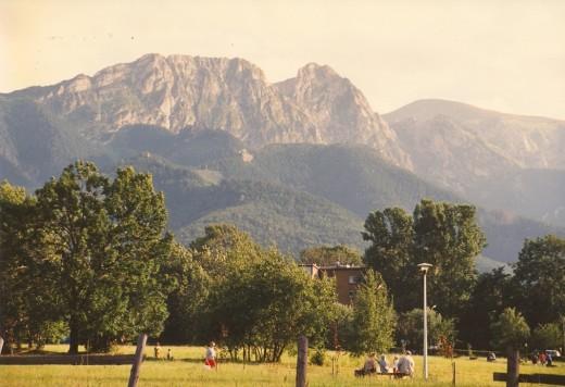 Giewont, Zakopane, Poland.