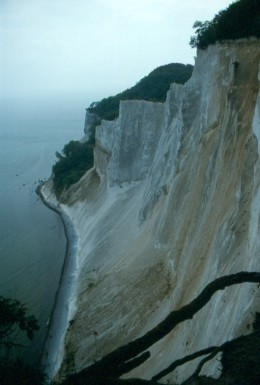 Cliffs of Moen, Denmark.
