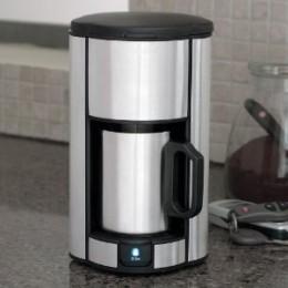 Brookstone Single Cup Coffee Maker