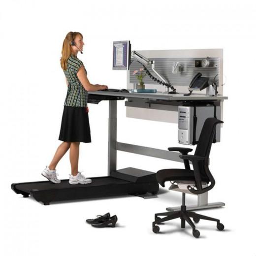 walking treadmill desk