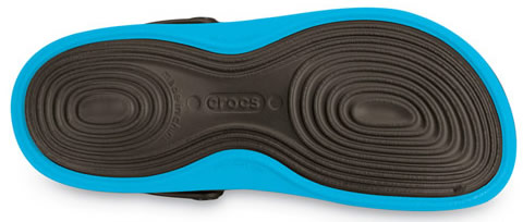 The Crocs Tone muscle stimulating outsole