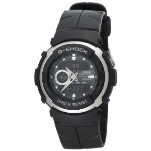Casio Men's G300-3AV G-Shock Ana-Digi Black Street Rider Watch