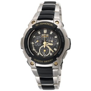 Casio Men's MTG1000-9 G-Shock MT-G Multi-Band Solar Atomic Chronograph Watch