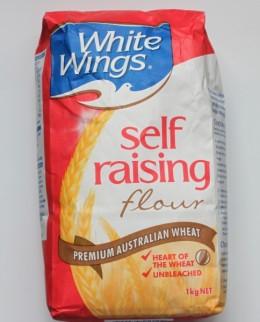 White Wings Self Raising Flour.