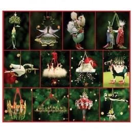 Krinkles Twelve Days of Christmas Tree Ornament Set