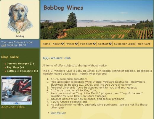 bobdogwine.com