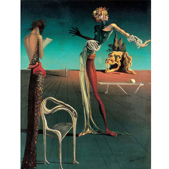 Salvador Dali - Leda Chair