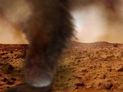 Martian dust devil