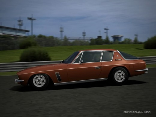 This is not a photo of my car, but is similar one I found on photobucket. The jensen Interceptor SP111 looked sensational on the road.
