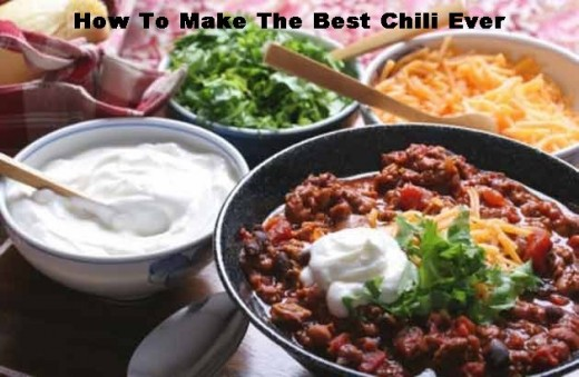 I guess you could say I have a love of chili. Cold weather gets me to wanting to make a great pot of chili. How about you?