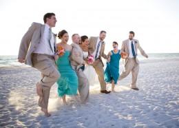 Photojournalistic or Lifestyle Wedding Party Photo